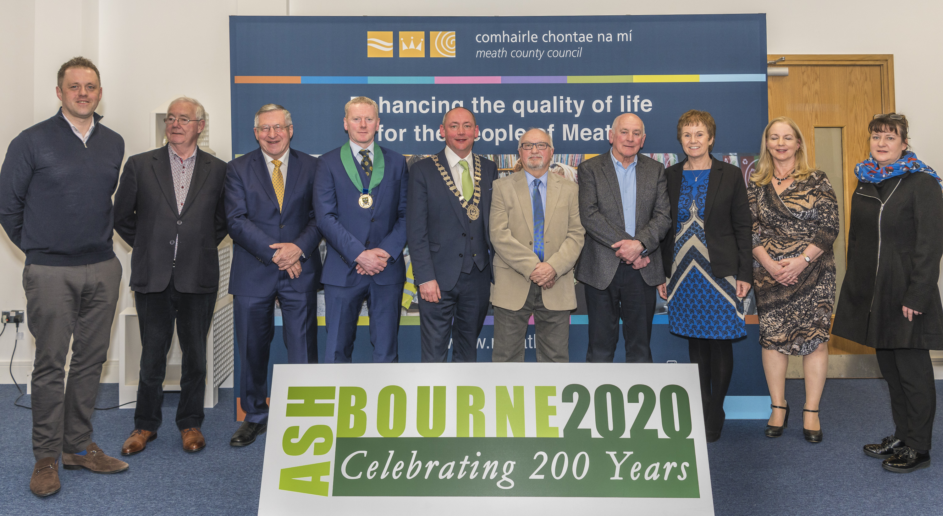 Ashbourne 200 Year Historical Civic Reception
